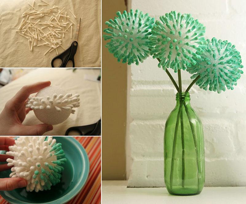 pomysł zaczerpnięty z http://www.handimania.com/diy/cotton-ear-bud-flowers.html