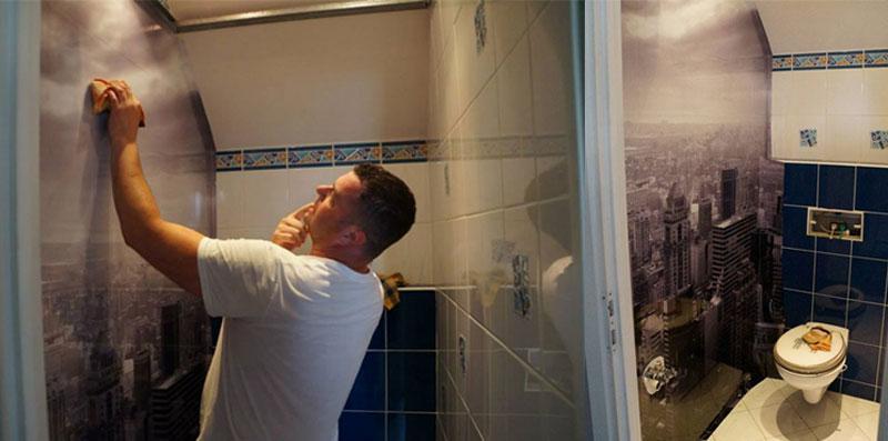 szybki remont w łazience
