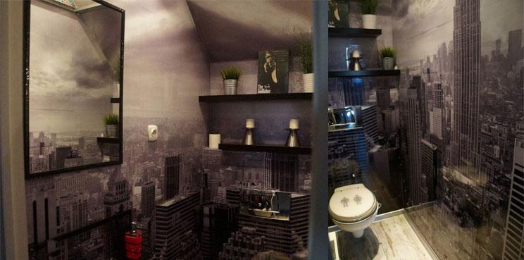 jak szybko dekorować łazienkę