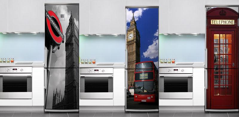 naklejki na lodówkę z Londynem