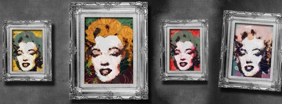 5 sposobów jak ozdobić ścianę ramkami na zdjęcia.
