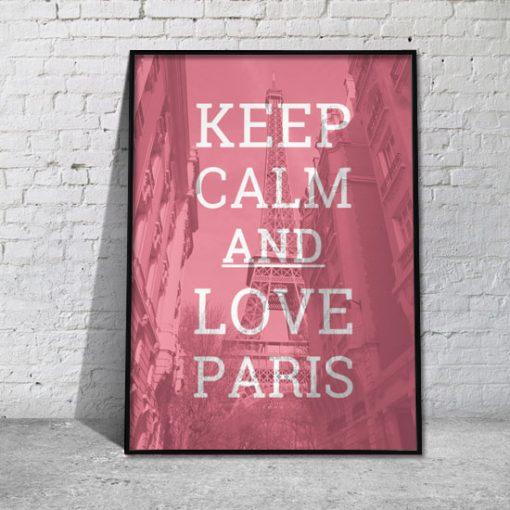 jaki plakat do francuskiej sypialni
