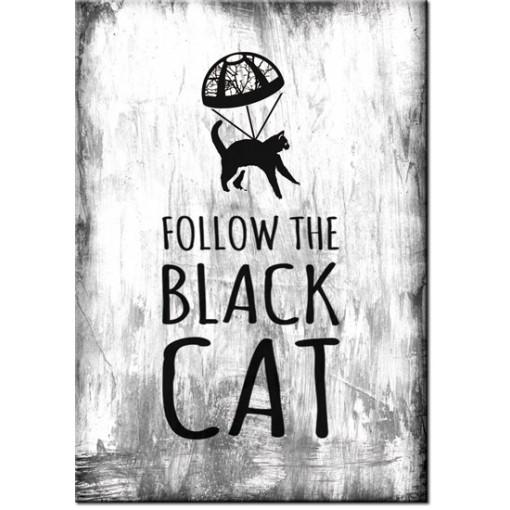 Plakat na ścinę z kotem