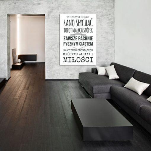 jakie ozdoby ścian do salonu w stylu skandynawskim