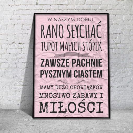 plakaty z sentencjami do sypialni