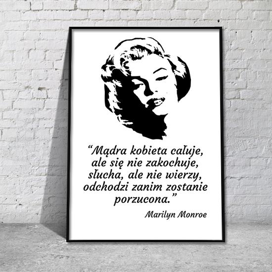 Obraz Cytat Marilyn Monroe
