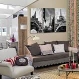 dekoracje ścian w sypialni