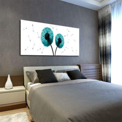 dekoracje ścian do sypialni