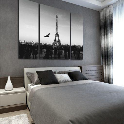 dekoracje ścian francuskie