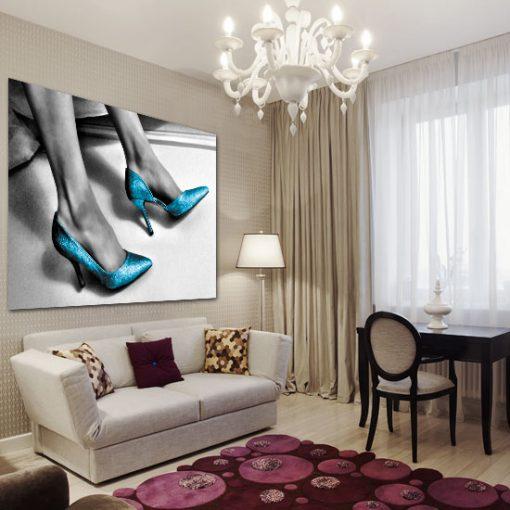 obrazy z butami