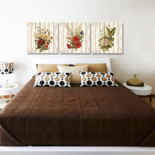 jakie dekoracje ścian do prowansalskiej sypialni