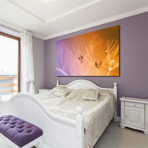 dekoracje ścienne do sypialni