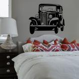 dekoracje do retro sypialni