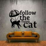 dekoracje ścian koty