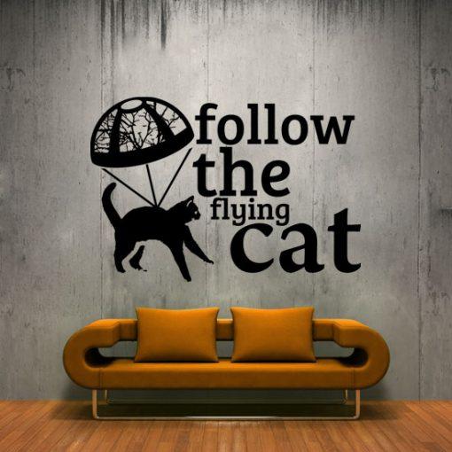 naklejki ścienne z kotami
