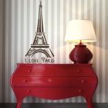 naklejka z symbolem Paryża