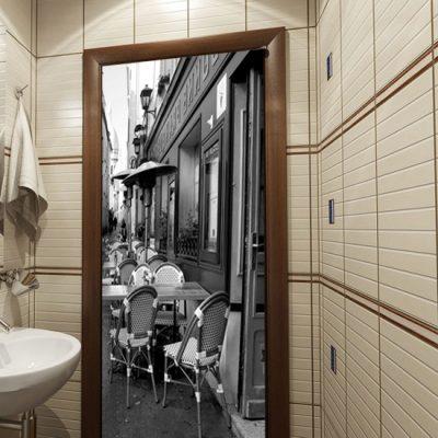 okleina na drzwi paryż