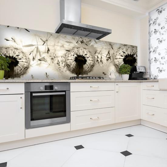 dekoracje ścian w kuchni