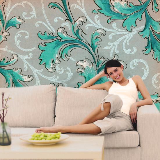 retro dekoracje ścian