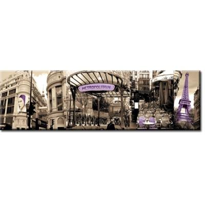 naklejki na meble panorama paryża