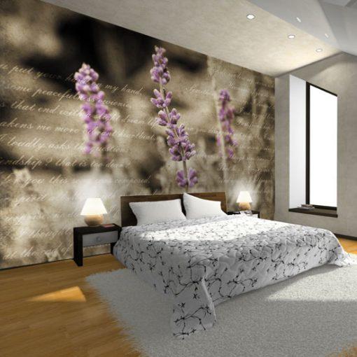 dekoracje do prowansalskiej sypialni