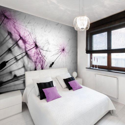 fototapety do sypialni w stylu prowansalskim