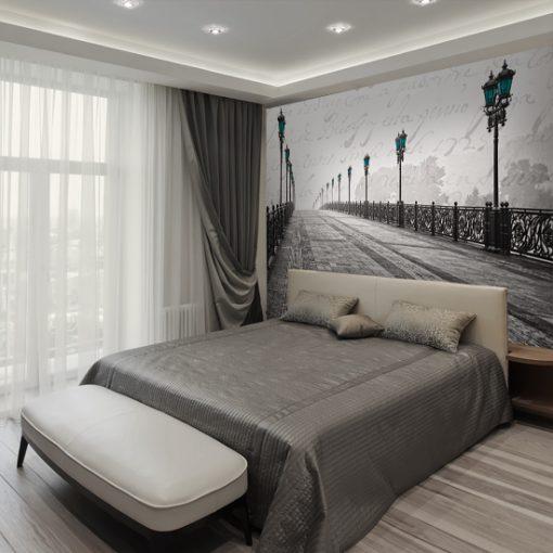 jakie dekoracje ścian do romantycznej sypialni