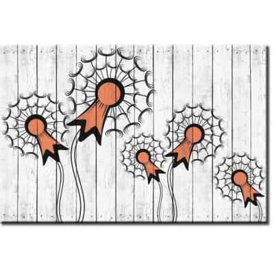 dekoracje ścienne deski