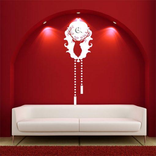 nowoczesny zegar na ścianę