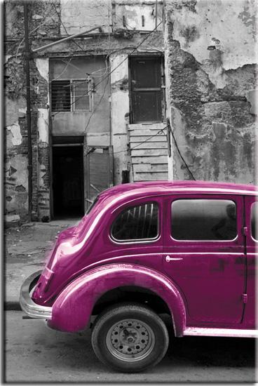 obraz samochód na kubie
