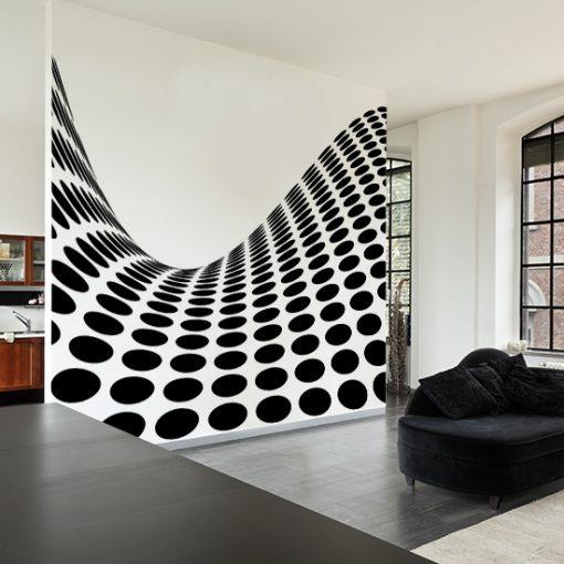 skandynawskie wzory na ściany