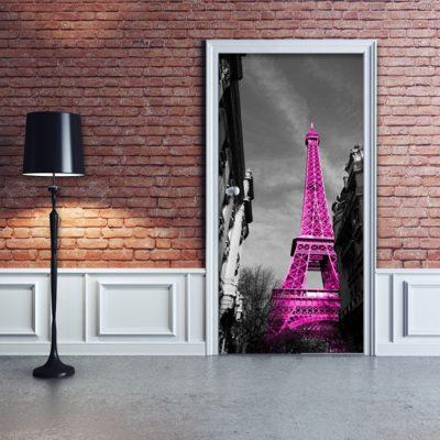 dekoracje na drzwi francja paryż