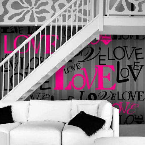 ozdoby ścienne love