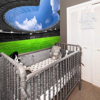dekoracje ścian stadion barcelony