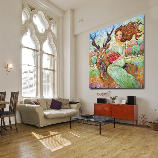 bajkowe dekoracje ścian