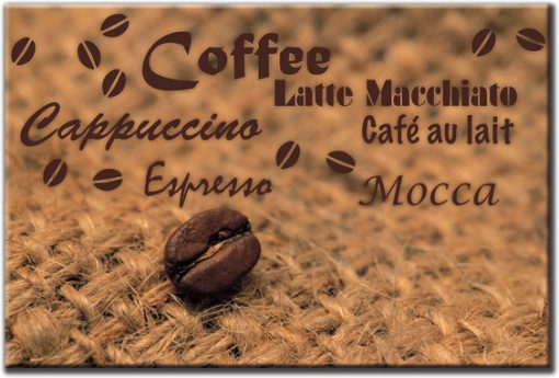 tapety z kawą do jadalni