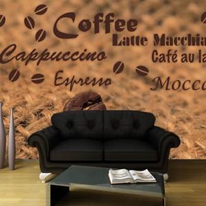 ozdoby z kawą do kuchni