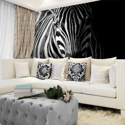 dekoracja ścienna zebra