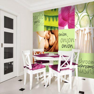 ozdoby ścian do jadalni