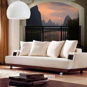 najpiękniejsze ozdoby do salonu - jak powiększyć mały pokój