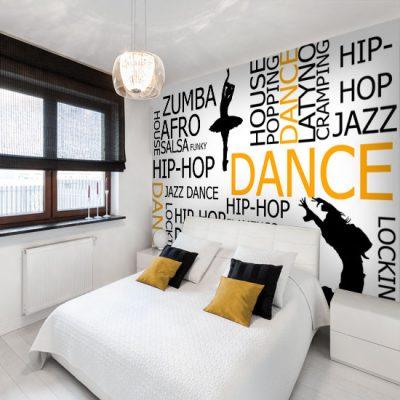 ozdoby ścian taniec