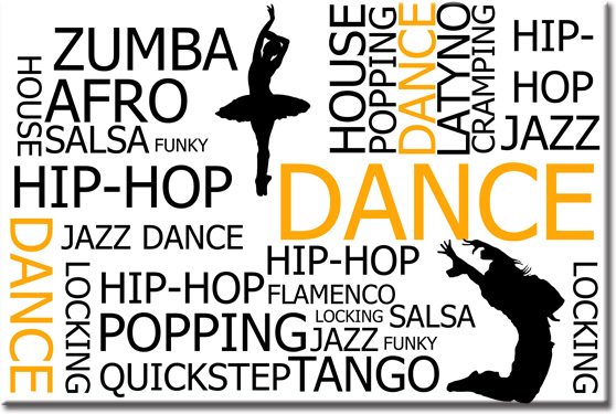 fototapety z tańcem