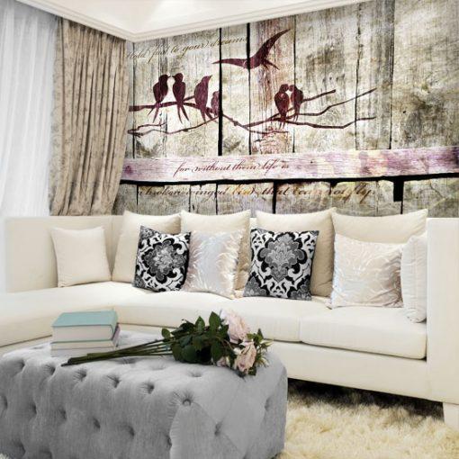 dekoracje do rustykalnego salonu