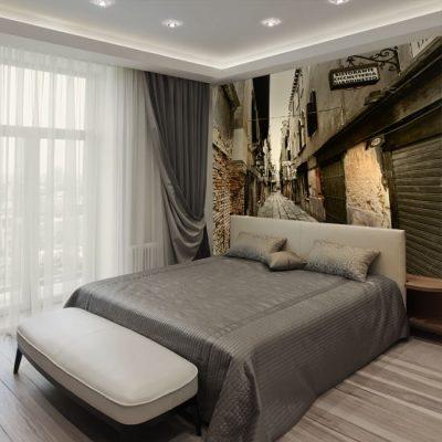 ozdoby ścian do ciasnego pokoju