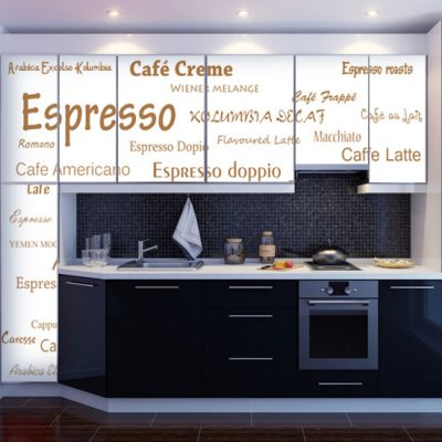 fototapety z napisami do kuchni