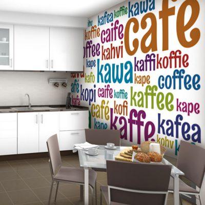pomysł na ścianę w kuchni