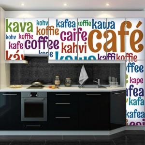 dekoracje z napisami kawa