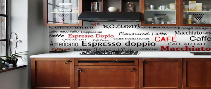 ozdoby do kuchni napisy kawa