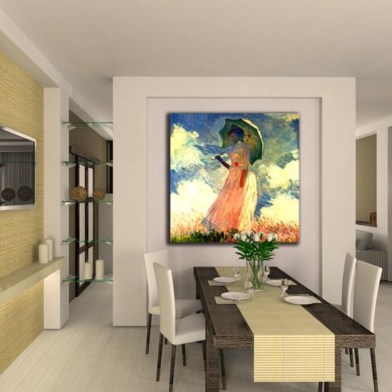 Jak udekorować pokój w stylu staroangielskim - obraz Moneta