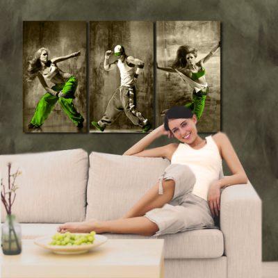 tancerze w tryptyku
